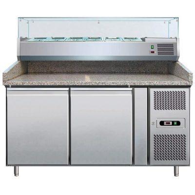 Хладилна маса за гарниране на пици